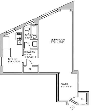 Studio, West Village Rental in NYC for $3,475 - Photo 2