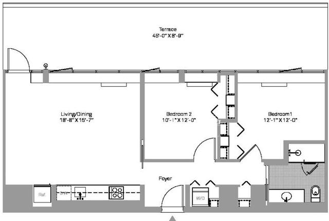 2 Bedrooms, Stapleton Rental in NYC for $2,292 - Photo 1