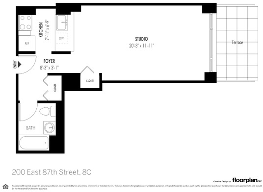 Studio, Yorkville Rental in NYC for $3,231 - Photo 2