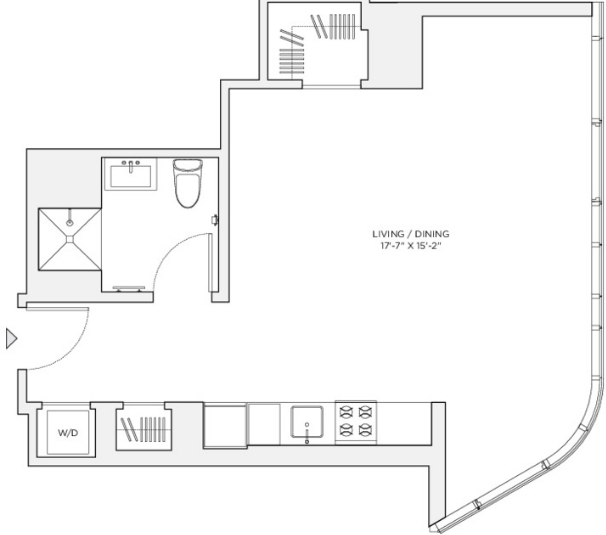 Studio, Theater District Rental in NYC for $3,675 - Photo 2