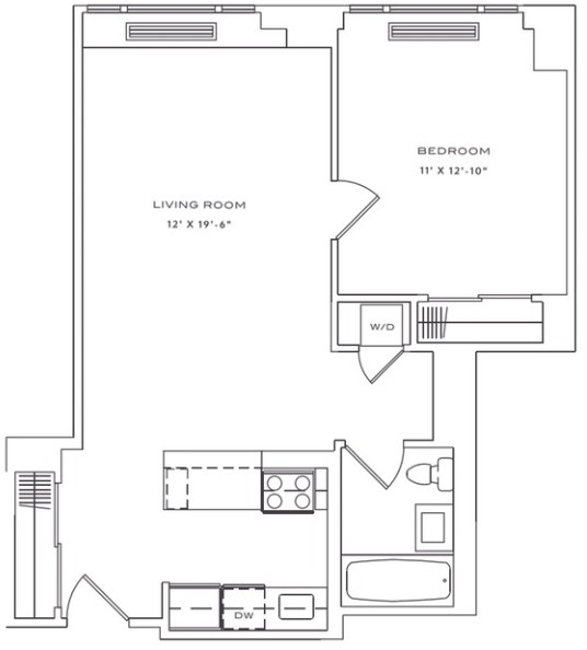 1 Bedroom, Lincoln Square Rental in NYC for $3,825 - Photo 2