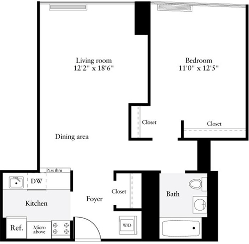 1 Bedroom, Murray Hill Rental in NYC for $4,152 - Photo 2