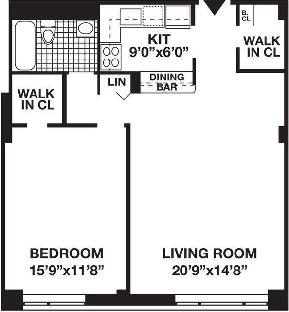 1 Bedroom, Battery Park City Rental in NYC for $3,980 - Photo 2