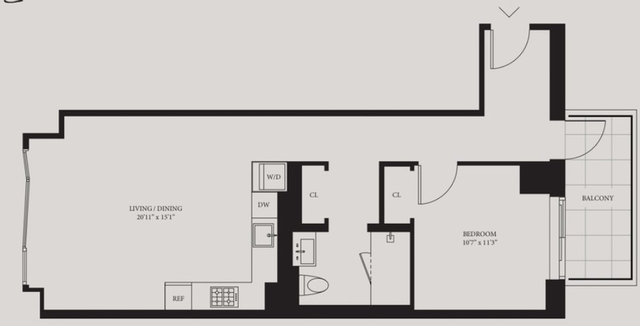 1 Bedroom, Hell's Kitchen Rental in NYC for $4,523 - Photo 2