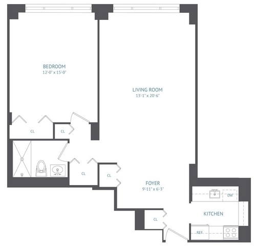 1 Bedroom, Upper West Side Rental in NYC for $3,265 - Photo 2
