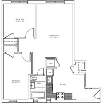 2 Bedrooms, Chelsea Rental in NYC for $5,850 - Photo 2