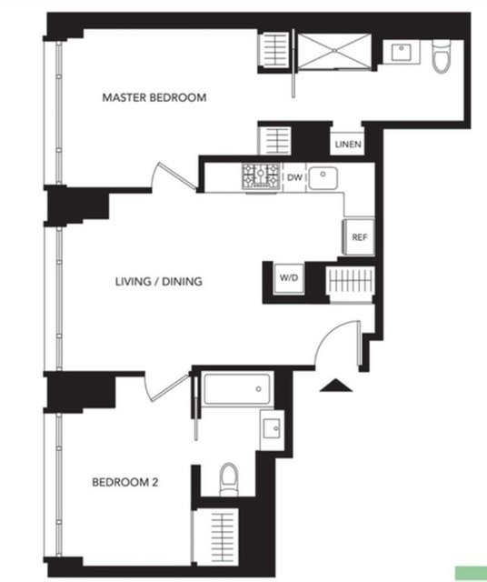 2 Bedrooms, Murray Hill Rental in NYC for $6,390 - Photo 2