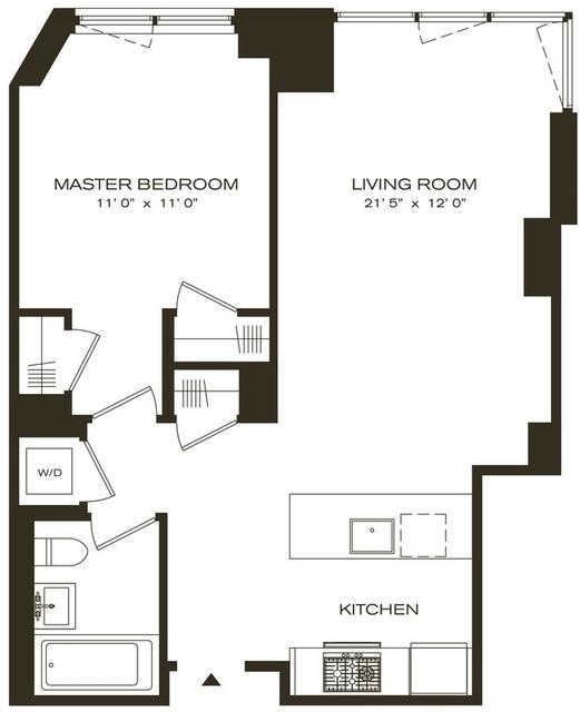 1 Bedroom, Brooklyn Heights Rental in NYC for $3,795 - Photo 2
