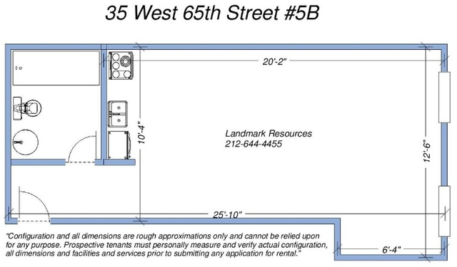 Studio, Lincoln Square Rental in NYC for $2,285 - Photo 2