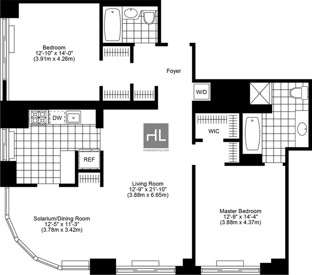 2 Bedrooms, Yorkville Rental in NYC for $8,885 - Photo 2
