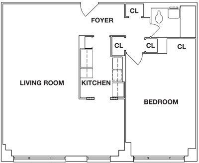 1 Bedroom, Kew Gardens Rental in NYC for $1,940 - Photo 2