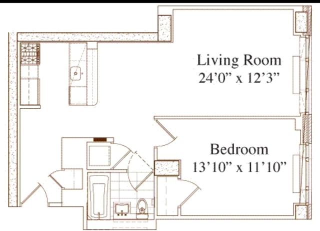 1 Bedroom, Lincoln Square Rental in NYC for $3,775 - Photo 2