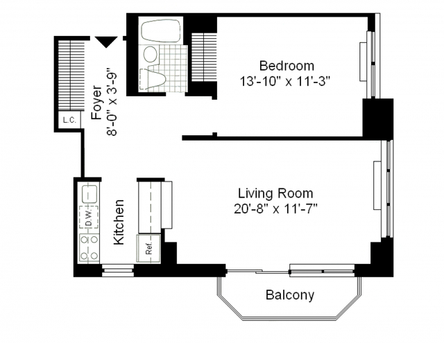 1 Bedroom, Theater District Rental in NYC for $4,025 - Photo 2