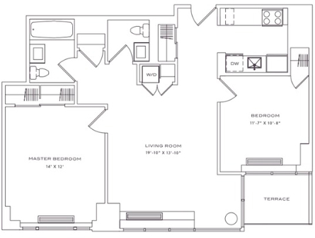 2 Bedrooms, Lincoln Square Rental in NYC for $6,621 - Photo 2