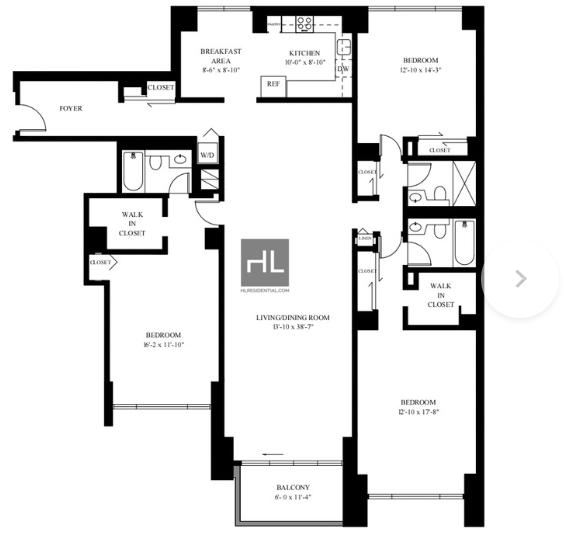 3 Bedrooms, Midtown East Rental in NYC for $9,600 - Photo 2