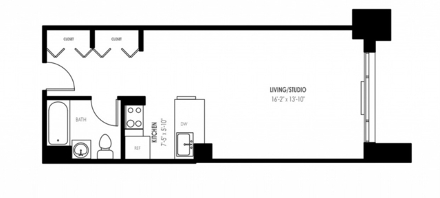 Studio, Yorkville Rental in NYC for $2,743 - Photo 2