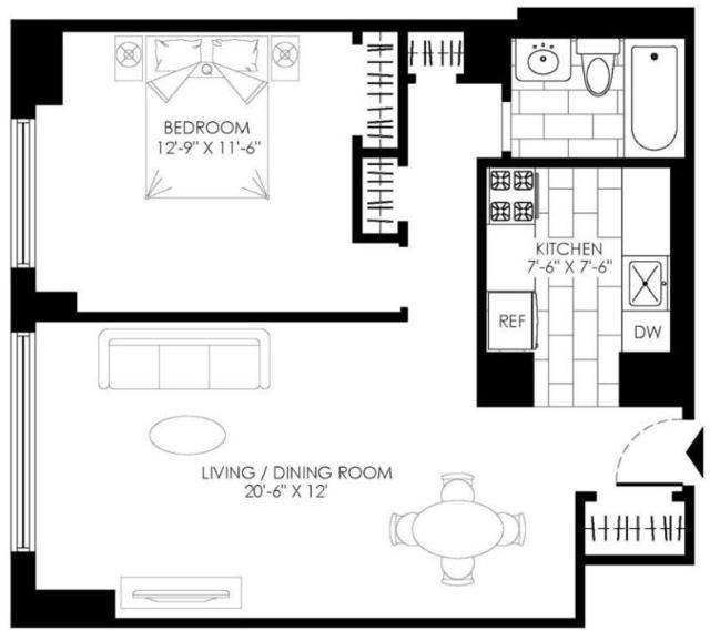 1 Bedroom, Kew Gardens Rental in NYC for $2,250 - Photo 2