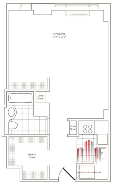 Studio, Rose Hill Rental in NYC for $3,000 - Photo 2