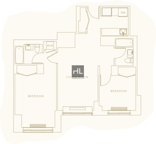 2 Bedrooms, Hell's Kitchen Rental in NYC for $4,930 - Photo 2