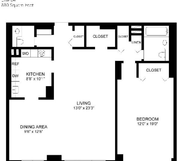1 Bedroom, Spuyten Duyvil Rental in NYC for $1,985 - Photo 2
