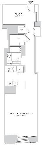 Studio, Financial District Rental in NYC for $3,845 - Photo 2