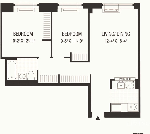 2 Bedrooms, Financial District Rental in NYC for $4,748 - Photo 2