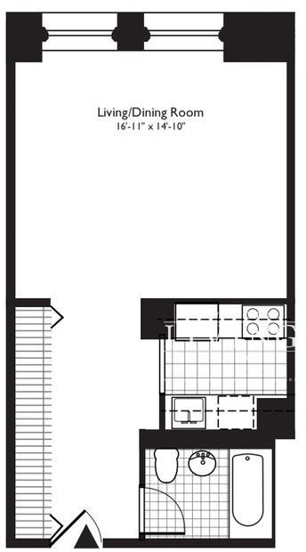Studio, Financial District Rental in NYC for $3,799 - Photo 2