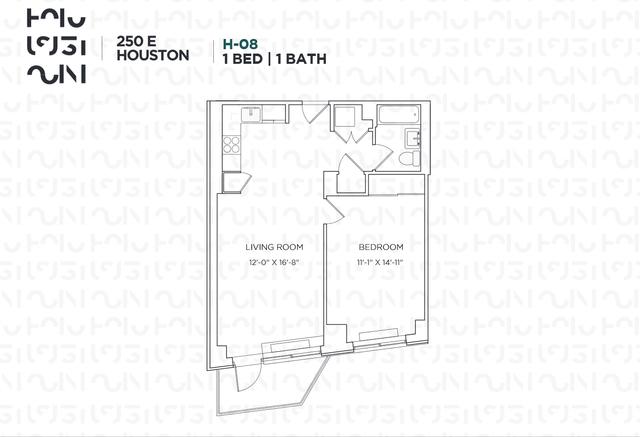 1 Bedroom, Alphabet City Rental in NYC for $4,770 - Photo 2