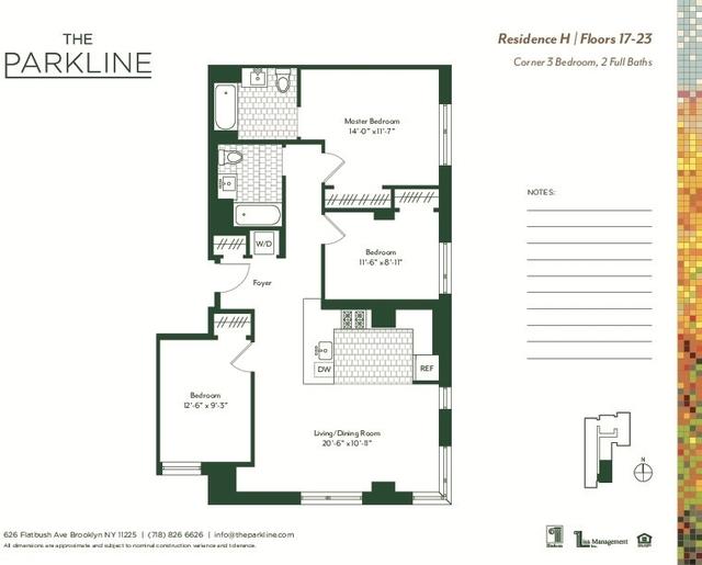 1 Bedroom, Prospect Lefferts Gardens Rental in NYC for $4,308 - Photo 2