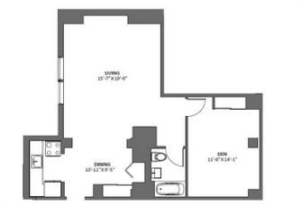 1 Bedroom, Tribeca Rental in NYC for $4,700 - Photo 2