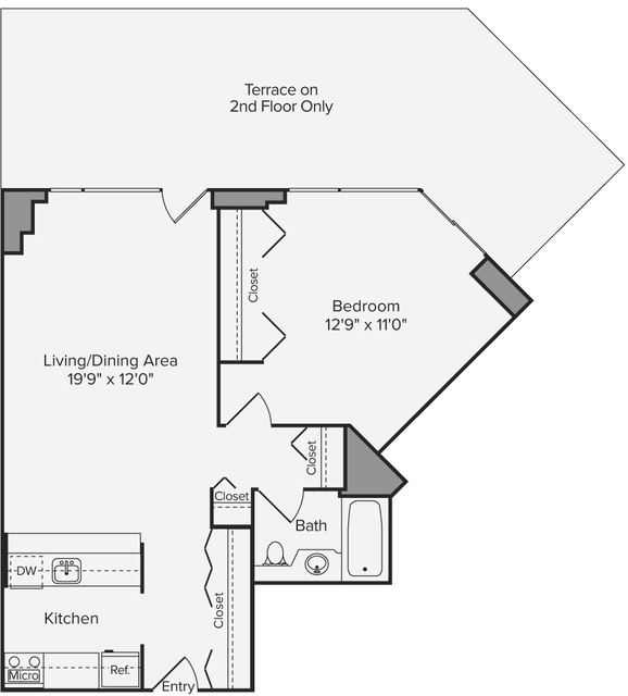 1 Bedroom, Theater District Rental in NYC for $3,502 - Photo 1