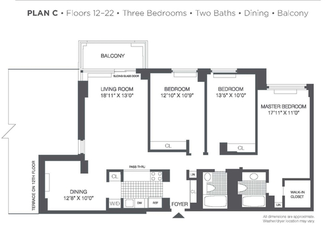3 Bedrooms, Roosevelt Island Rental in NYC for $5,900 - Photo 2
