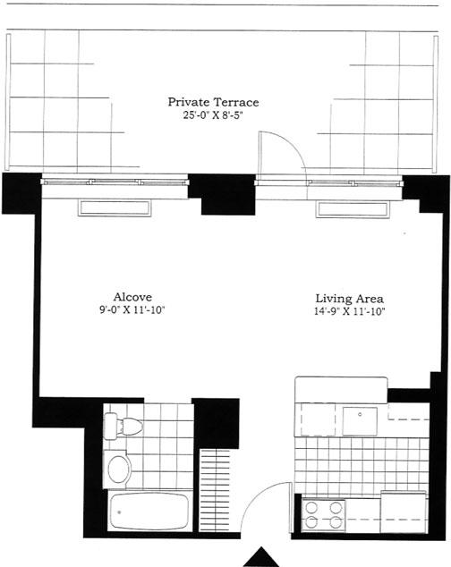 Studio, East Harlem Rental in NYC for $3,450 - Photo 2