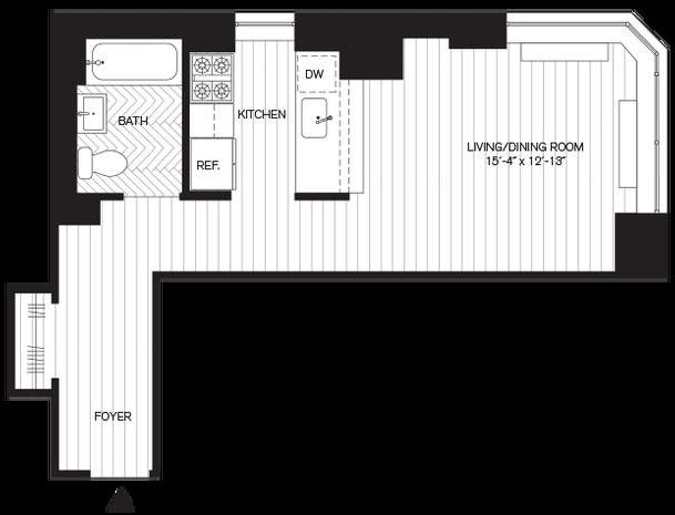 Studio, Yorkville Rental in NYC for $2,760 - Photo 2