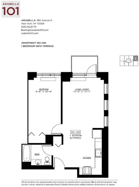 1 Bedroom, Alphabet City Rental in NYC for $3,995 - Photo 2