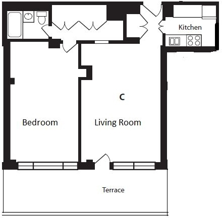 1 Bedroom, Yorkville Rental in NYC for $3,995 - Photo 2