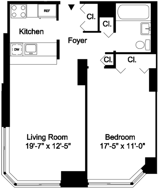 1 Bedroom, Yorkville Rental in NYC for $3,637 - Photo 2