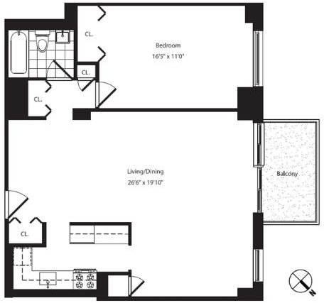1 Bedroom, Yorkville Rental in NYC for $5,271 - Photo 2
