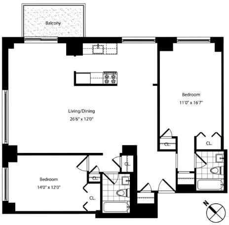 2 Bedrooms, Yorkville Rental in NYC for $7,792 - Photo 2