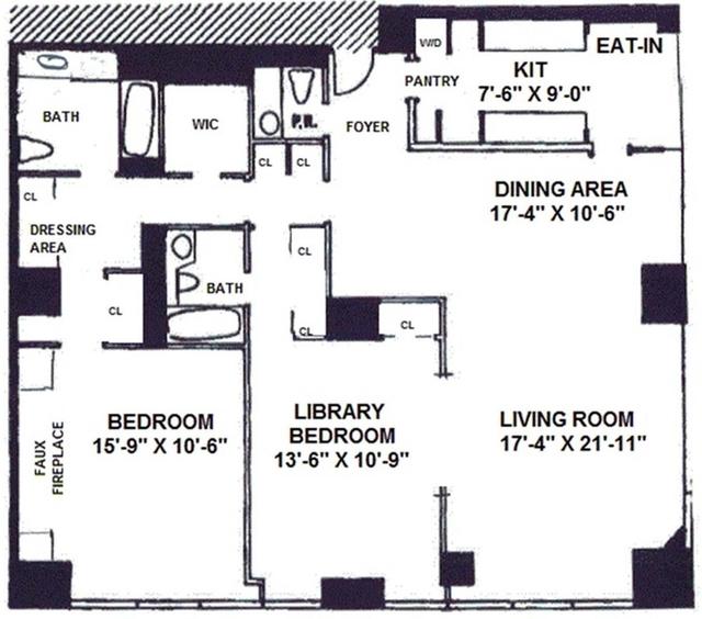 2 Bedrooms, Midtown East Rental in NYC for $11,995 - Photo 1