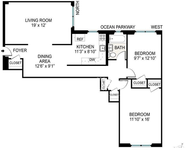 2 Bedrooms, Midwood Rental in NYC for $2,599 - Photo 2