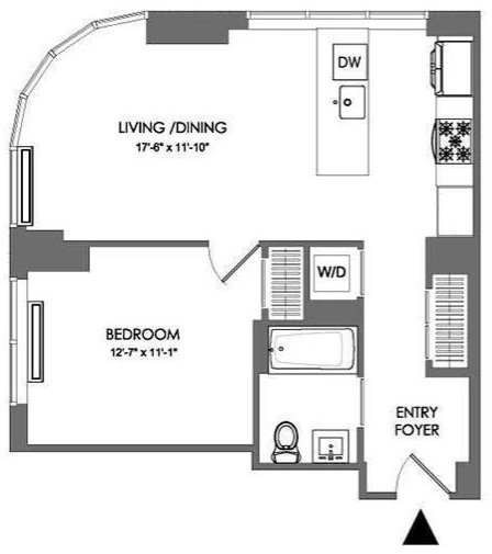 1 Bedroom, Downtown Brooklyn Rental in NYC for $4,095 - Photo 2