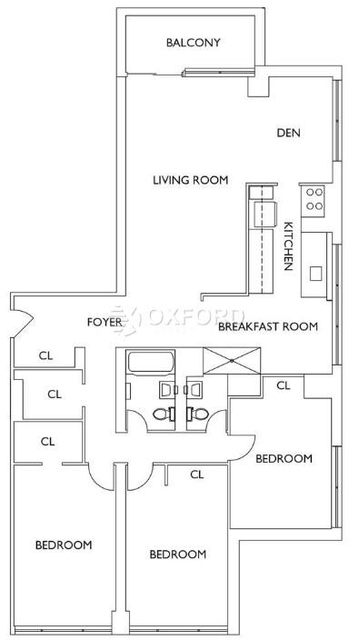 4 Bedrooms, Upper West Side Rental in NYC for $6,228 - Photo 2