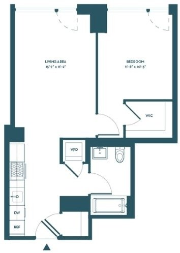 1 Bedroom, Hell's Kitchen Rental in NYC for $3,032 - Photo 2