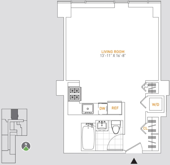 Studio, Manhattan Valley Rental in NYC for $3,368 - Photo 2