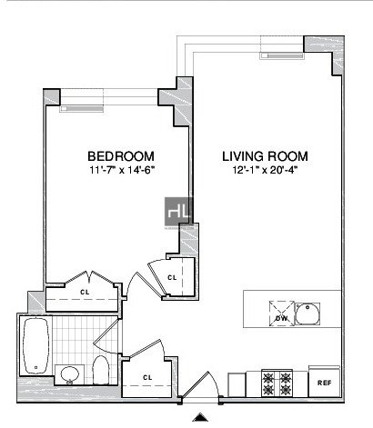 1 Bedroom, Boerum Hill Rental in NYC for $3,995 - Photo 2