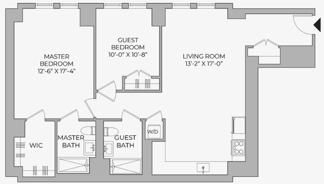 2 Bedrooms, Morningside Heights Rental in NYC for $5,550 - Photo 2