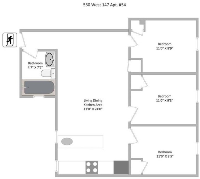 3 Bedrooms, Hamilton Heights Rental in NYC for $2,980 - Photo 2