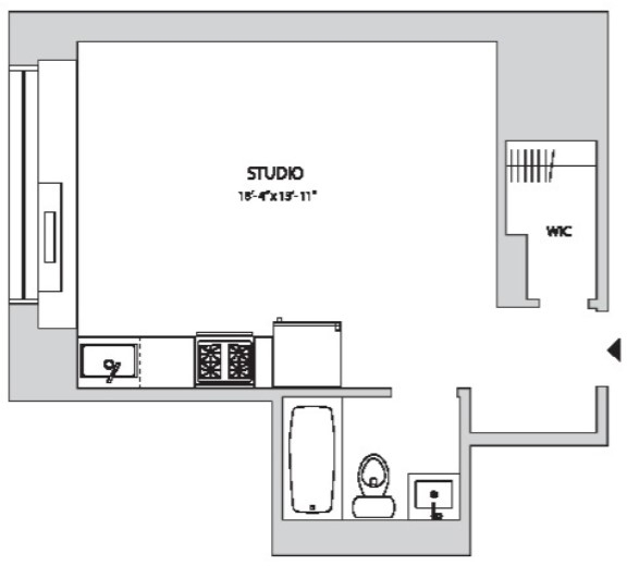 Studio, Yorkville Rental in NYC for $2,542 - Photo 2