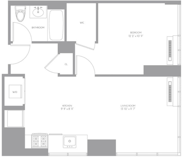1 Bedroom, Murray Hill Rental in NYC for $3,587 - Photo 2